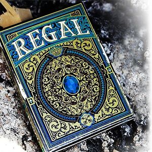 Regal Blue Playing Cards Poker Spielkarten Expert Playing Card Company