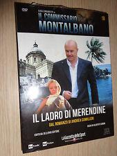 DVD N° 18 IL COMMISSARIO MONTALBANO  ZINGARETTI CAMILLERI IL LADRO DI MERENDINE