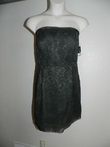 Image Is Loading Davids Bridal Dress Plus Size 22 Tarragon Strapless