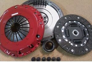 AUDI-A2-1-4-TDI-FOURCHETTE-Allegee-amp-equilibree-volant-Carbon-Nitride-Clutch-Boulons