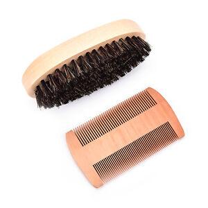 Wholesale-Boar-Bristle-Beard-Brush-and-Comb-Beard-Comb-Kit-Mens-Grooming-KitLLP