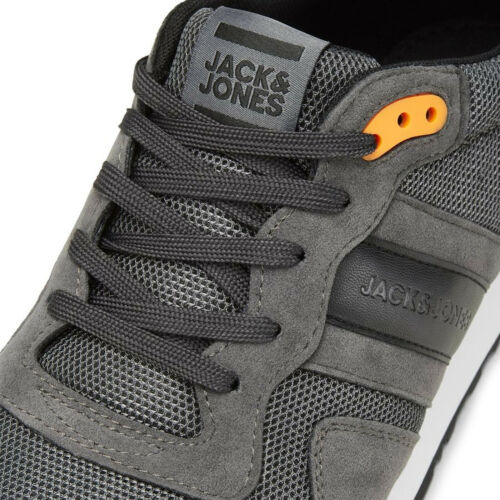 Jack /& Jones Mesh Trainers Trend Lace Up Fashion Sneakers Shoes Mens JFWStellar