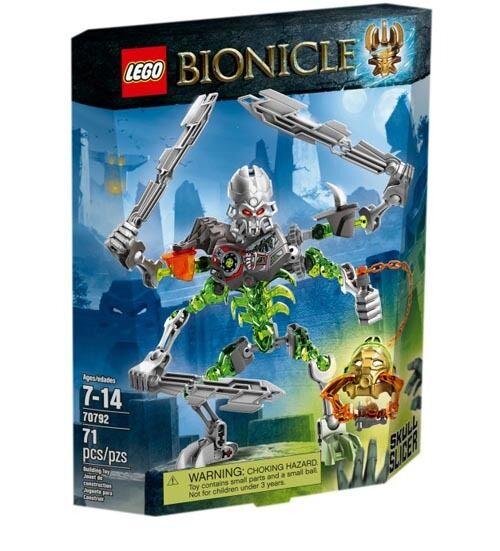 LEGO Bionicle 70792 Skull Slicer Action Figure Set New In Box Sealed