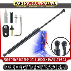 Tailgate Assist Shock Struts Lift Support For 2004-2014 Ford F-150 Pickup 2006-2008 Lincoln Mark LT Pickup
