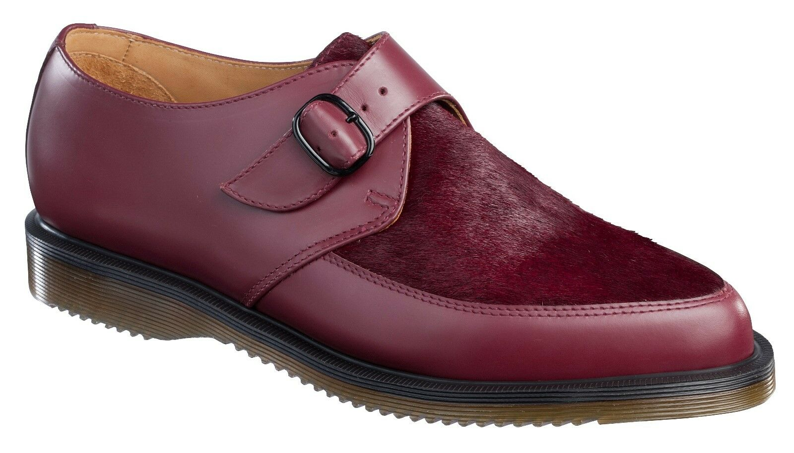 e053672a8bab Dr. Martens Ashland Pointed Monk Men's 14 Shoes Cherry Red Smooth ...