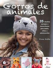 GORROS DE ANIMALS TEJIDOS A DOS AGUJAS / ANIMAL BEANIES