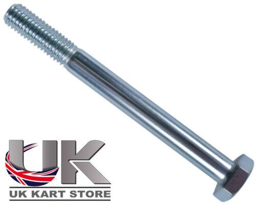 Bumper Bolt M10 x 140mm Hex Head UK KART STORE