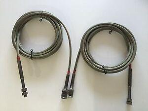 Kismet-amp-Laycock-KEL-1700-2-post-2-5-Tonne-car-lift-cables-ramp-ropes