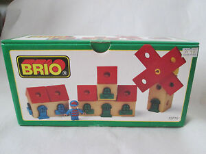 1996 Brio Wooden Railway System BUILDING KIT House Apartment Condo Set #33710