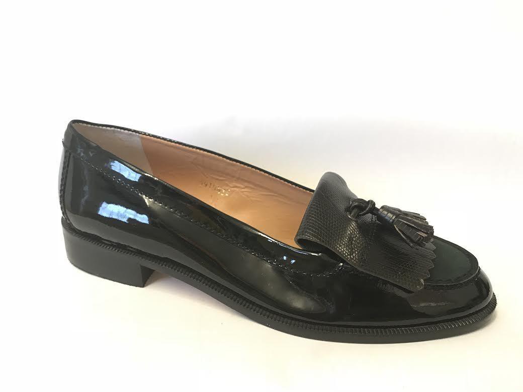 HB España señoras para mujer Inteligente Charol Charol Charol Slip On Tassle Mocasines zapatos 5 6  envío rápido en todo el mundo