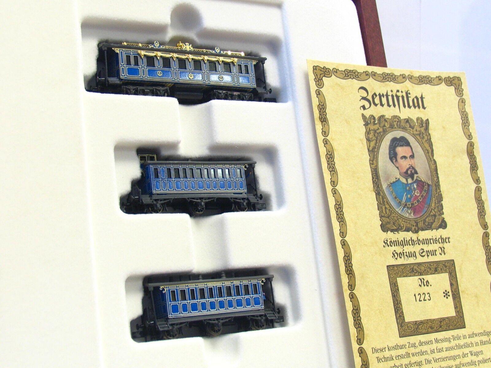 Arnold   Railex N 0240 3er Set  königlicher Hofzug  in Holzschatulle OVP (V6130)