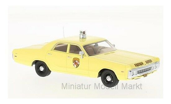 Neo Dodge Polara - Marylands delstatspolis - 1972 - 1 43