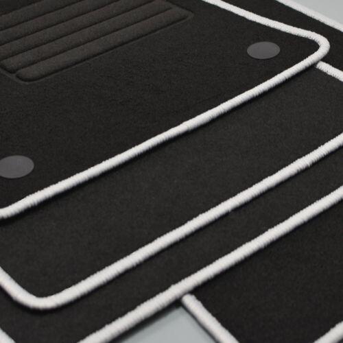 Mattenprofis Velours Logo Fußmatten passend für Renault Captur II ab Bj 2020 si