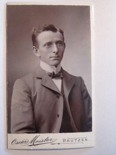 Bautzen - Mann im Anzug - Portrait / CDV