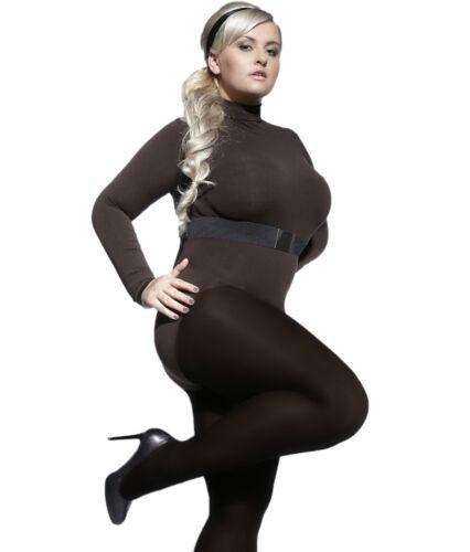 Bunte  Plus Size Perla Damen Strumpfhose 5 6 7 8 40 Den Adrian