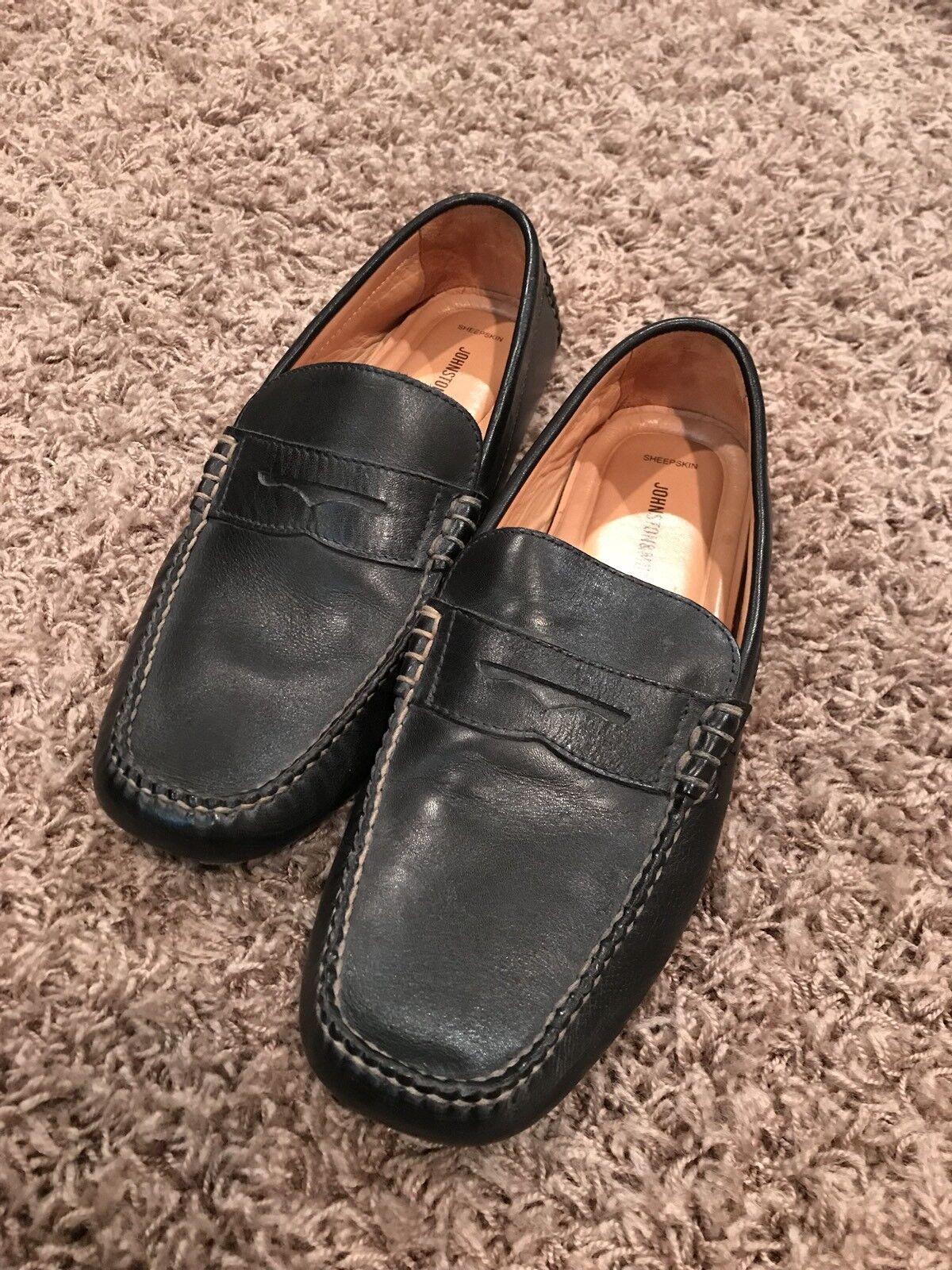 Johnston Murphy Slip On Loafers 10.5 black