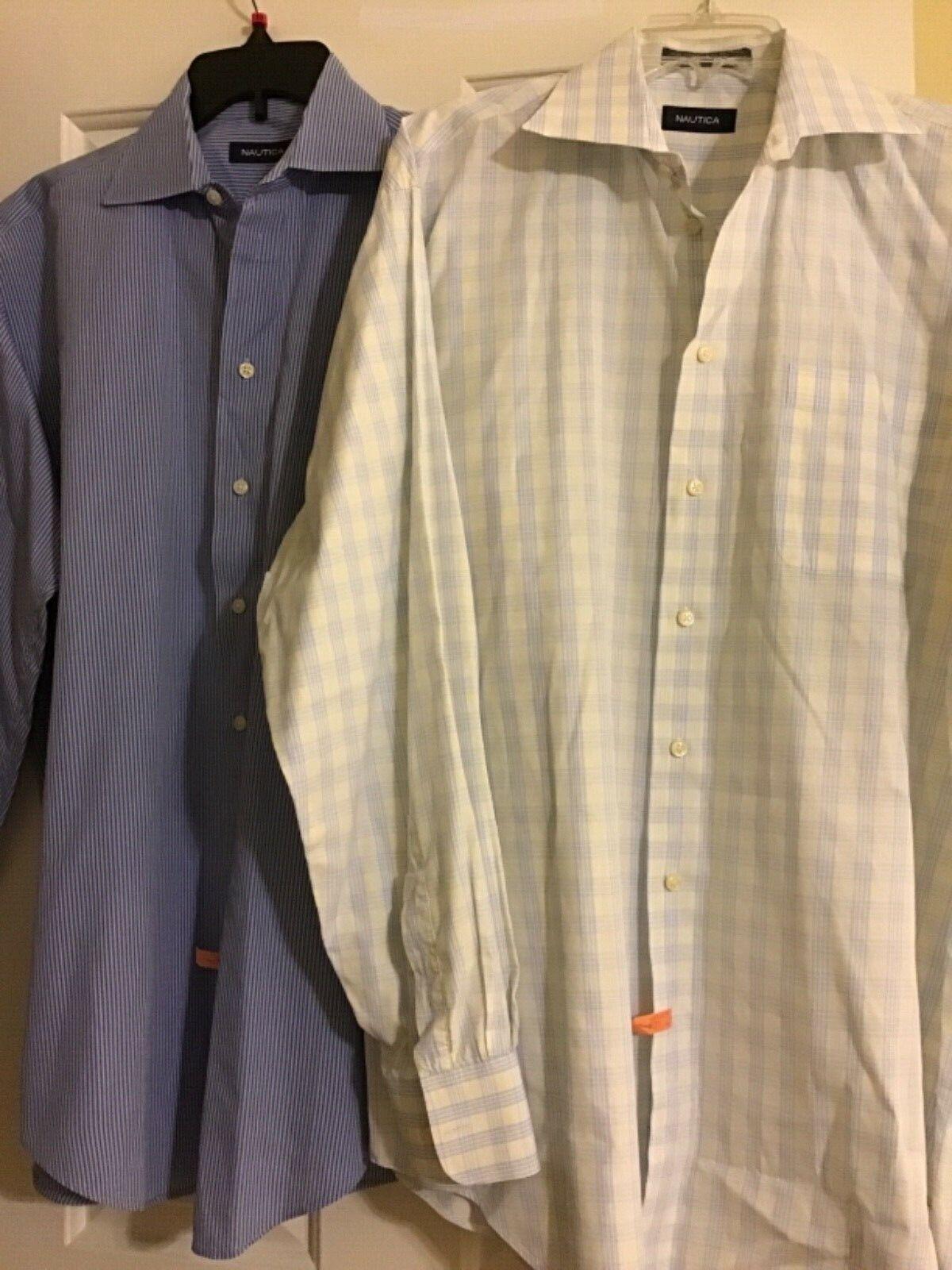 792a6688 Lot 2 nautica button down shirt 16-34 35;161 2-34 35 size nnlvet4028 ...