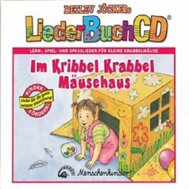 DETLEV JÖCKER - IM KRIBBEL-KRABBEL-MÄUSEHAUS (LIEDERBUCH CD)  CD NEU