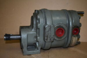 Hydraulic gear pump, Tandem, 26GPM, 11GPM, A220-42, Commercial Shearing