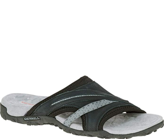 Online Size Merrell Terran Womens Ii Sale Black 9 Slide Sandals For e2YDHEW9Ib