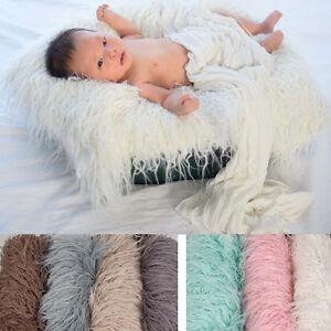 Newborn Baby Boys Girls Stretch Wrap Infant Photography Photo Prop Blanket Rug