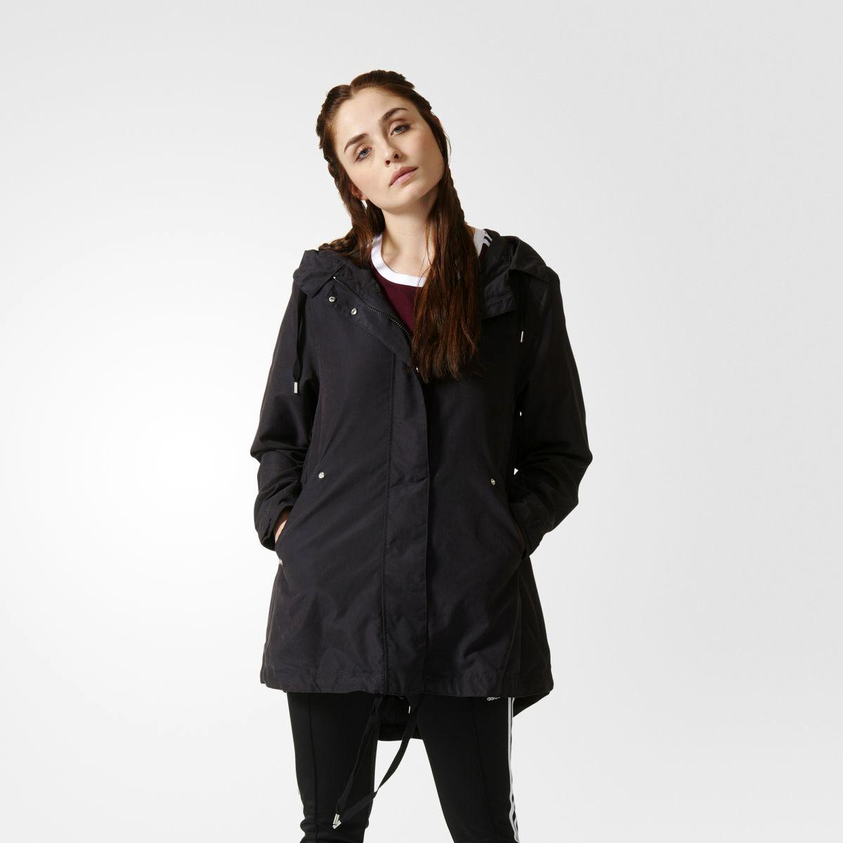 adidas Originals WMNS Parka kabát női új AY4769 fekete