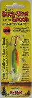 Northland Tackle Buck-shot® Rattle Spoon - 1/4 Oz. - Firetiger