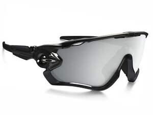 c783192b55 Image is loading NEW-Oakley-Jawbreaker-Sunglasses-Polished-Black-Chrome- Iridium-