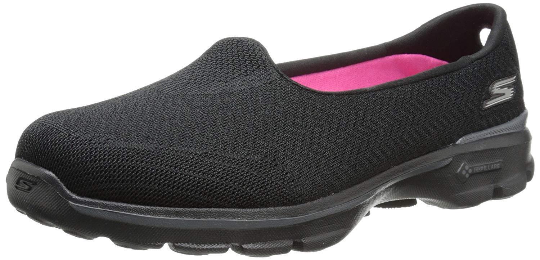 Skechers Mujer Go Walk 3 información de performance sin Zapato Cordones Para Caminar Zapato sin d4991d