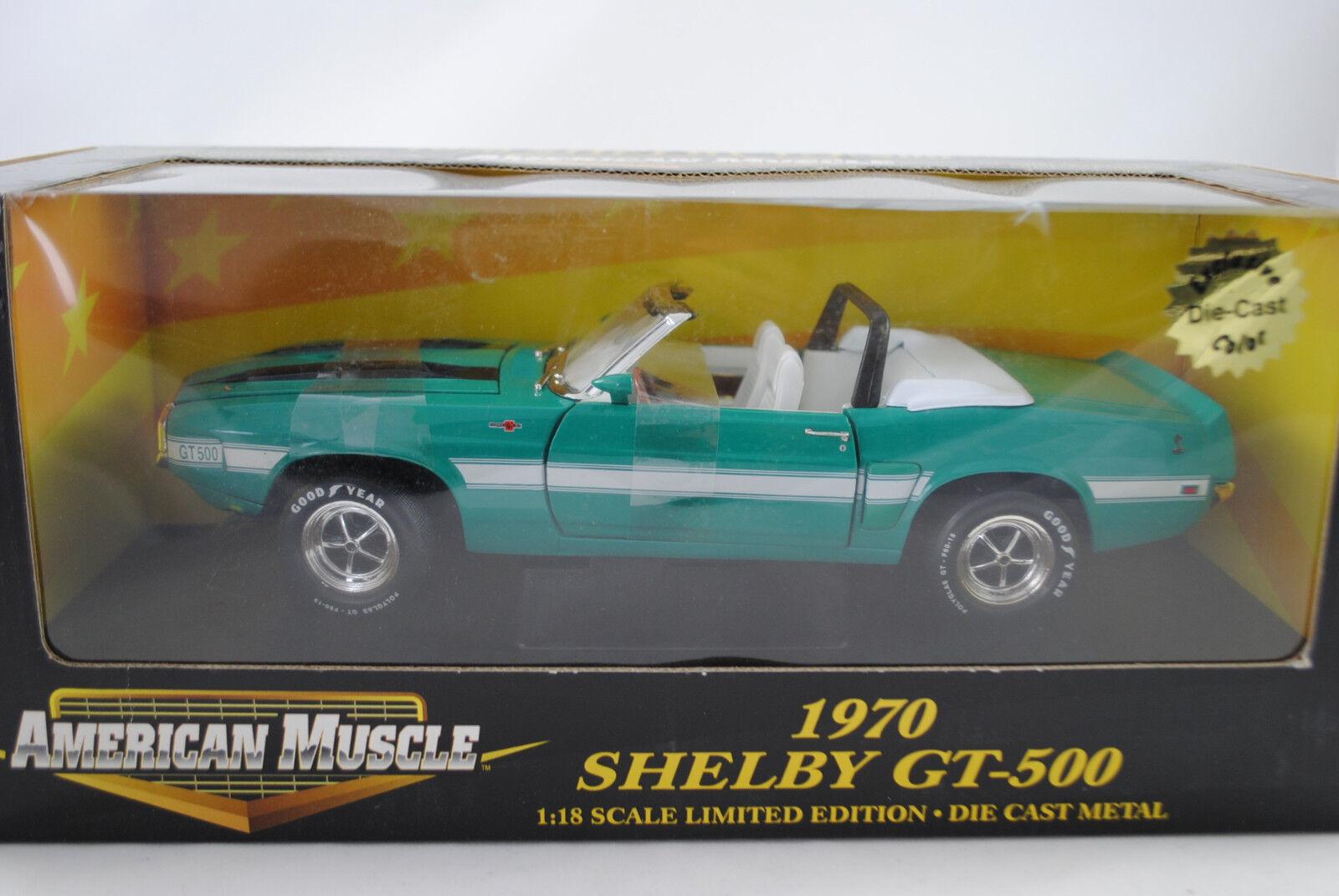 1:18 Ertl 1970 Shelby GT-500 Convertibile Verde Edizione Limitata  32815