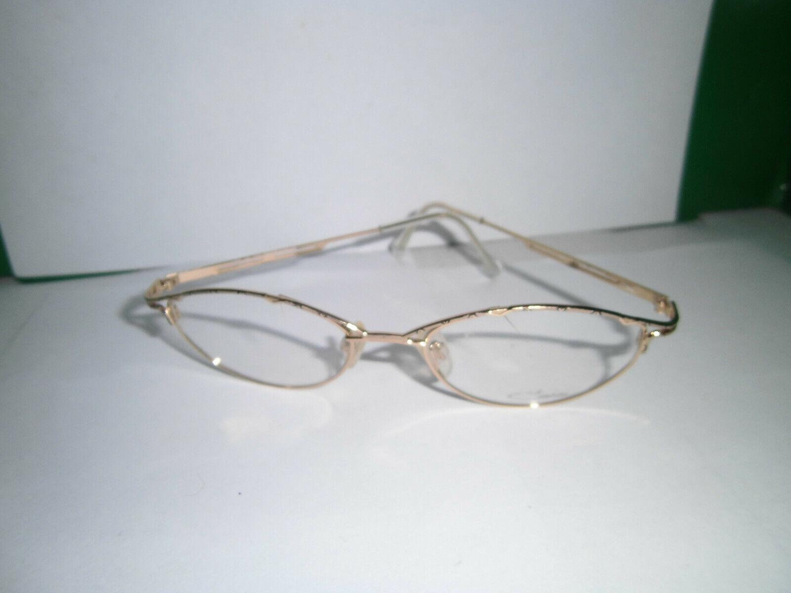 Cazal mod 126 col 739 gafas-versión oroen metal como nuevo   barato