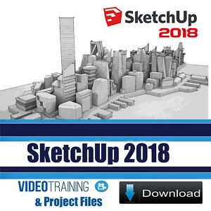 Details about SketchUp 2018 Video Training Tutorial 5 Courses Pack DOWNLOAD