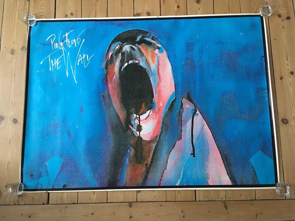 Plakat, Pink Floyd, motiv: Screaming Head