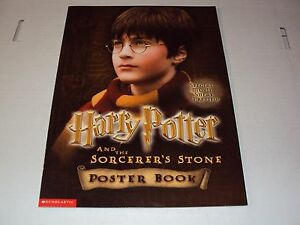 Harry Potter and The Sorcer's Stone Poster Book (New)