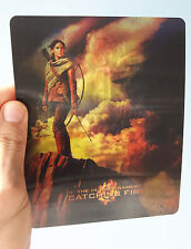 The Hunger Games Catching Fire 3D lenticular Flip effect for Steelbook