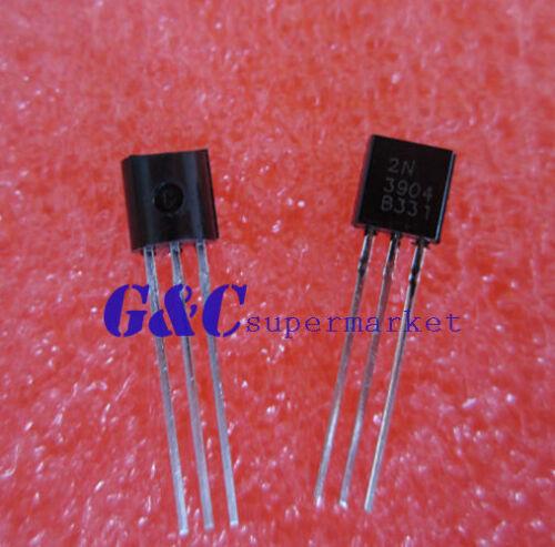 50 Paire ou 100PCS Transistor TO-92MOT//ON//FSC 2N3904//2N3906 Nouvelle Bonne Qualité