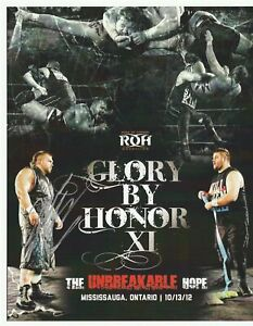 Michael-Elgin-Autograph-ROH-Glory-By-Honor-XI-8x10-Poster