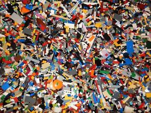2-POUNDS-OF-LEGOS-Bulk-lot-Bricks-parts-pieces-100-Lego-Star-Wars-City-Etc