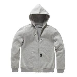 Vintage-Industries-Redstone-Hooded-Sweatjacke-Heather-Grey-Jacke-Hoodie-Zipper