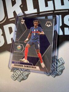 2021 PANINI MOSAIC UEFA EURO SOCCER ROOKIE #111 FRANCE - EDUARDO CAMAVINGA #2