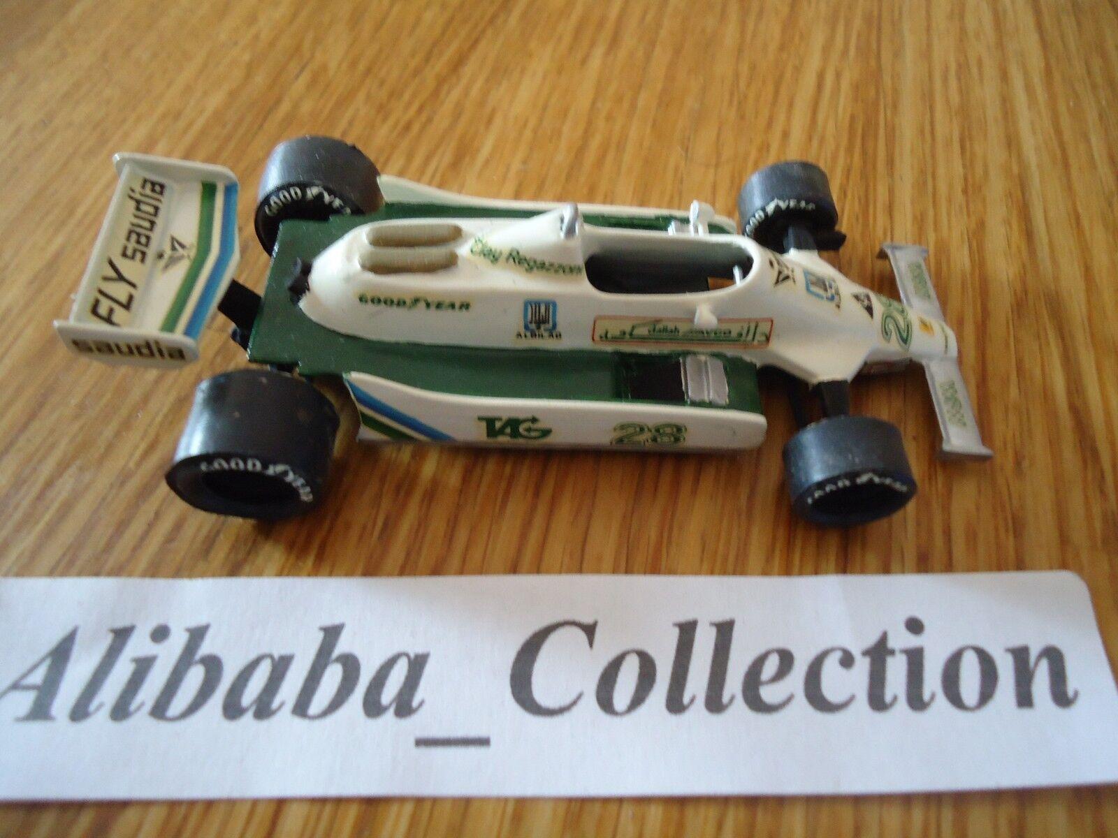 TENARIV TENARIV TENARIV WILLIAMS FW07 28 CLAY REGAZZONI 1979 1 43 SAUDIA  F1 Formule 1 KIT a06c30