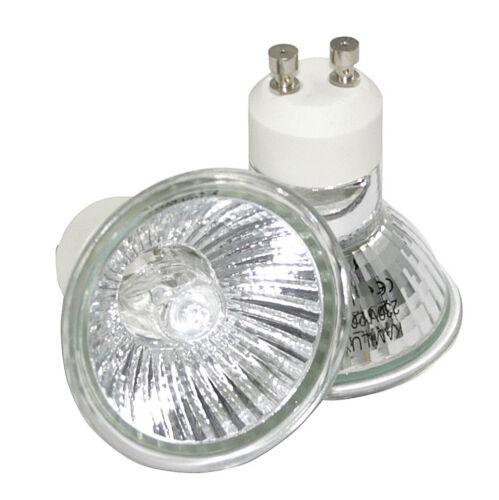 20W 50W 35W 10er Set Halogen Leuchtmittel Strahler Lampen 230V GU10
