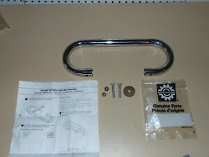 Nos-Vintage-Skidoo-Snowmobile-Chrome-Front-Handle-Kit-79-Citation-Olympique
