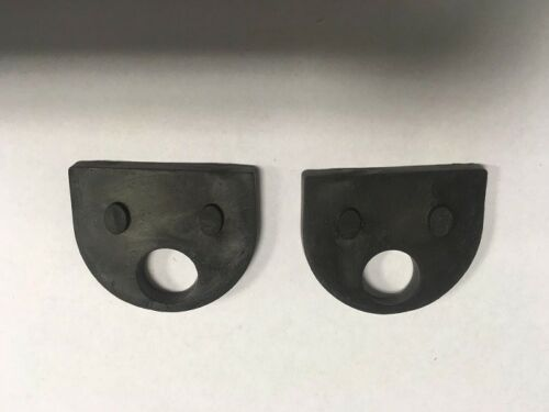 Glass Balustrade D Clamp Rubber Inserts Pads 4mm  for Glazing 1 to100 Pairs