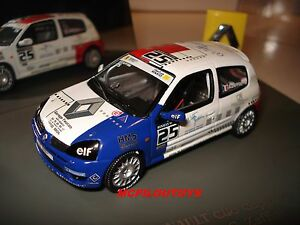 promo universal hobbies renault sport clio cup 2004 n 25 g zaffini au 1 43 ebay. Black Bedroom Furniture Sets. Home Design Ideas