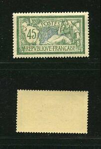 FRANCE-N-143-TYPE-MERSON-034-45c-VERT-ET-BLEU-034-NEUF-XX-SUP