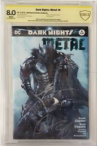 Dark-Knights-Metal-6-PRIVATE-COLLECTION-OF-SCOTT-SNYDER-CBCS-SS-SIGNED-3-TIMES