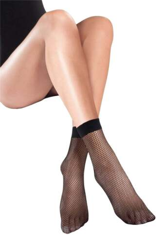 C /& N Accessories Fishnet Ankle Socks