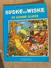Speciale Suske en Wiske De schone slaper met blauwe omslag !!