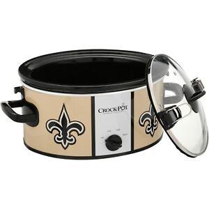 Crock-Pot NFL 6-Quart Slow Cooker New Orleans Saints Home Kitchen ... f174ef5fb
